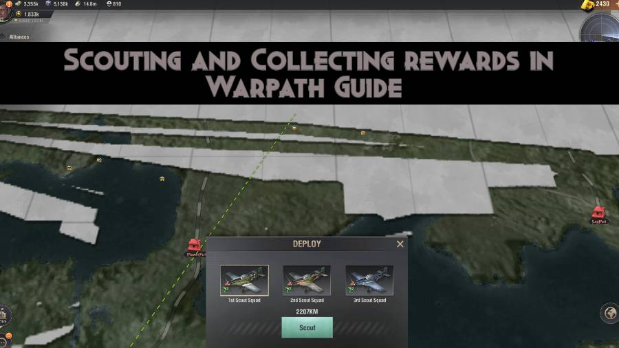 Scouting and Collecting Rewards in Warpath Guide