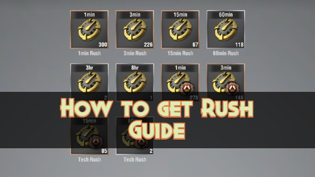 Warpath-How-to-get-Rush-Guide