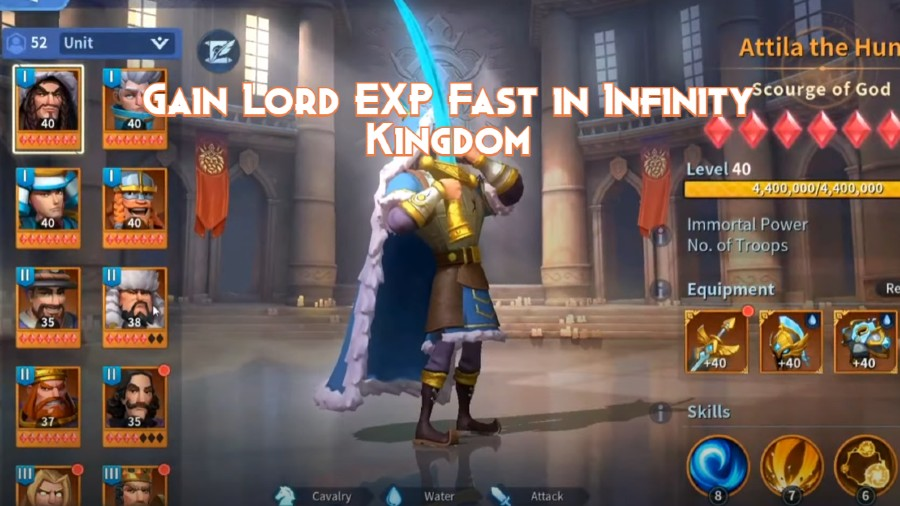 Gain Lord EXP Fast in Infinity Kingdom – Tips And Tricks