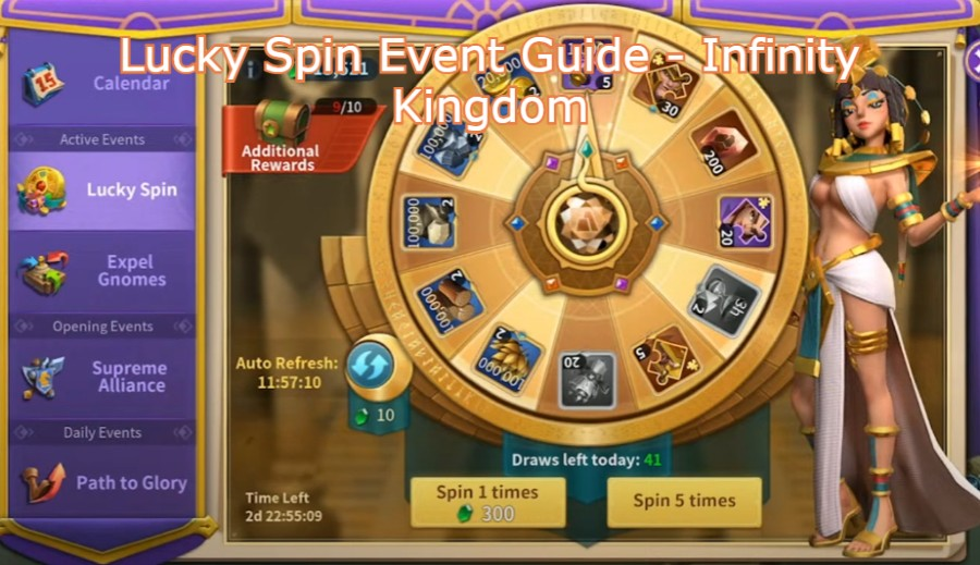 Lucky Spin Event Guide – Infinity Kingdom