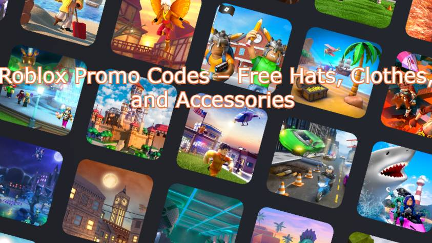 Roblox Promo Codes – Free Hats, Clothes, and Accessories