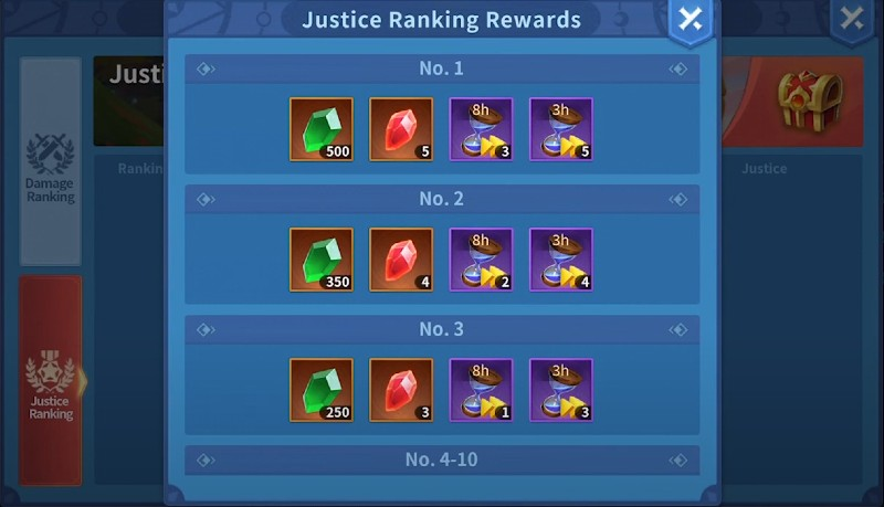 Titantula Chase Ranking and Rewards