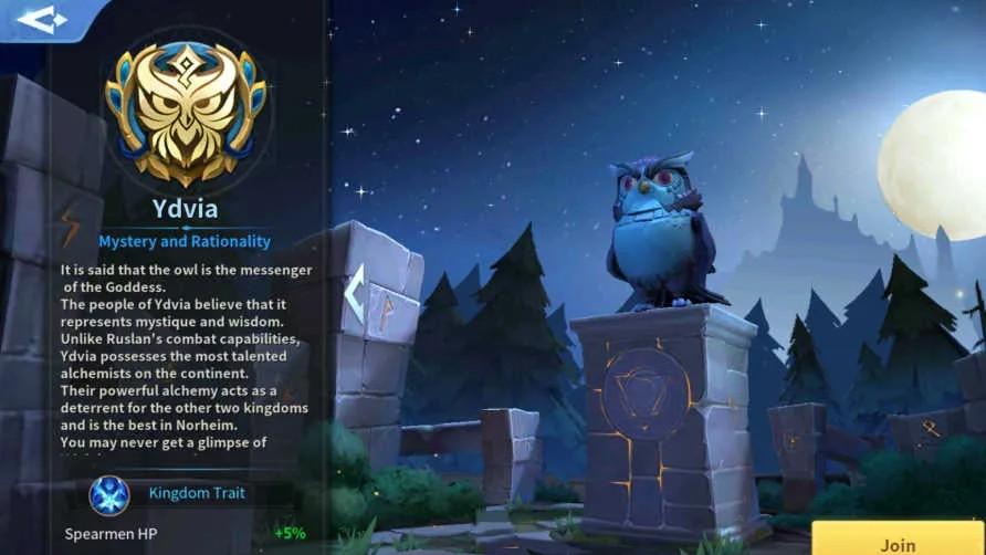Ydvia Kingdom Infinity Kingdoms