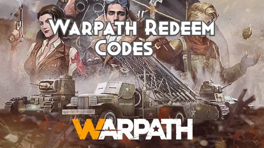 Warpath Redeem Codes